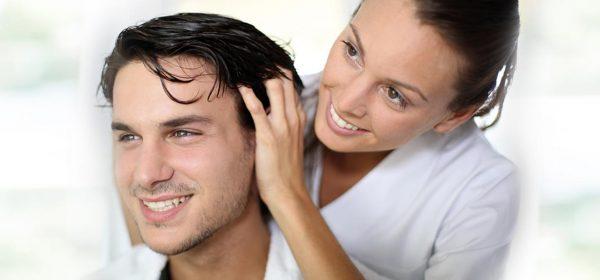 massaggio trofico capelli